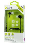 Kit piéton pour téléphone mobile Muvit Intra noir