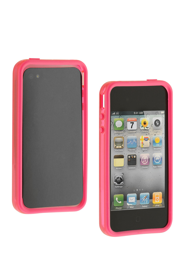 housse pour iphone muvit bumper x2 iphone 4 4s 1278142 darty