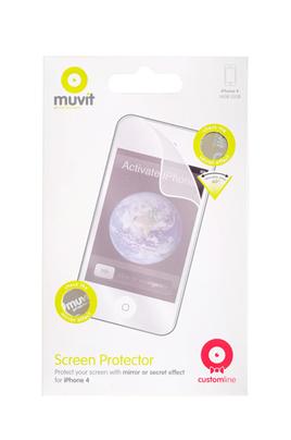 Protection d'écran pour smartphone Protection d'écran x2 iPhone 4/4S Muvit