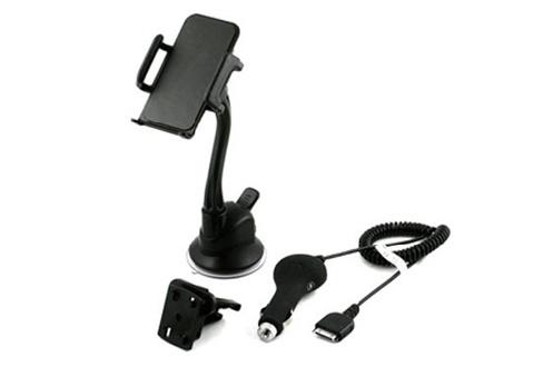 support pour t l phone mobile muvit support voiture. Black Bedroom Furniture Sets. Home Design Ideas