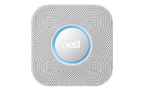 nest protect le d tecteur de fum e connect darty vous. Black Bedroom Furniture Sets. Home Design Ideas