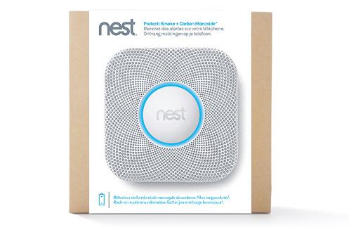 d tecteur de fum e connect nest protect detecteur de fumee et monoxyde nestprotect detecteur. Black Bedroom Furniture Sets. Home Design Ideas