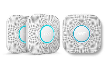 d tecteur de fum e connect nest nest protect pack de 3. Black Bedroom Furniture Sets. Home Design Ideas