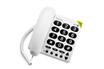 Téléphone filaire PHONE EASY BLANC Doro Matra