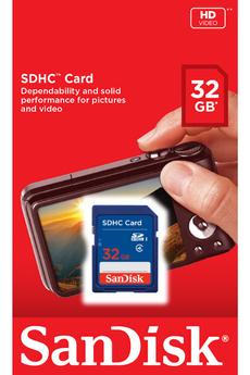 Carte SD SDHC 32GO Sandisk