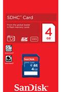 Sandisk SDHC 4 Go