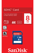 Sandisk SDHC 8GO