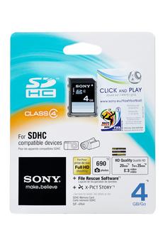 Carte mémoire SDHC 4G CLASS4 Sony