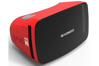 Casque de réalité virtuelle GRAB ROUGE Homido