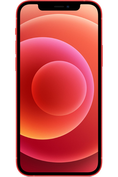 iPhone Apple APPLE IPHONE 12 64Go RED 5G