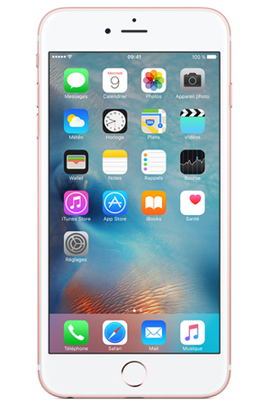 iphone apple iphone 6s plus 32go or rose iphone 6s plus 32gb or rose darty