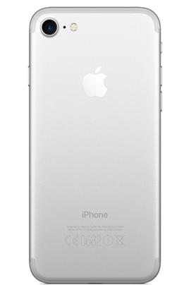 iphone apple iphone 7 128 go argent darty. Black Bedroom Furniture Sets. Home Design Ideas