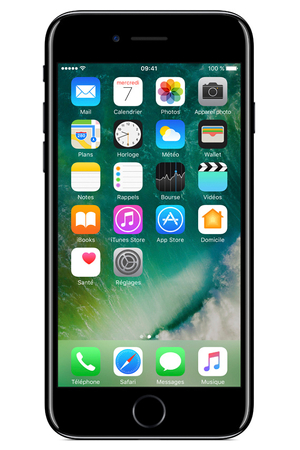 iphone apple iphone 7 256go noir de jais iphone 7 darty. Black Bedroom Furniture Sets. Home Design Ideas