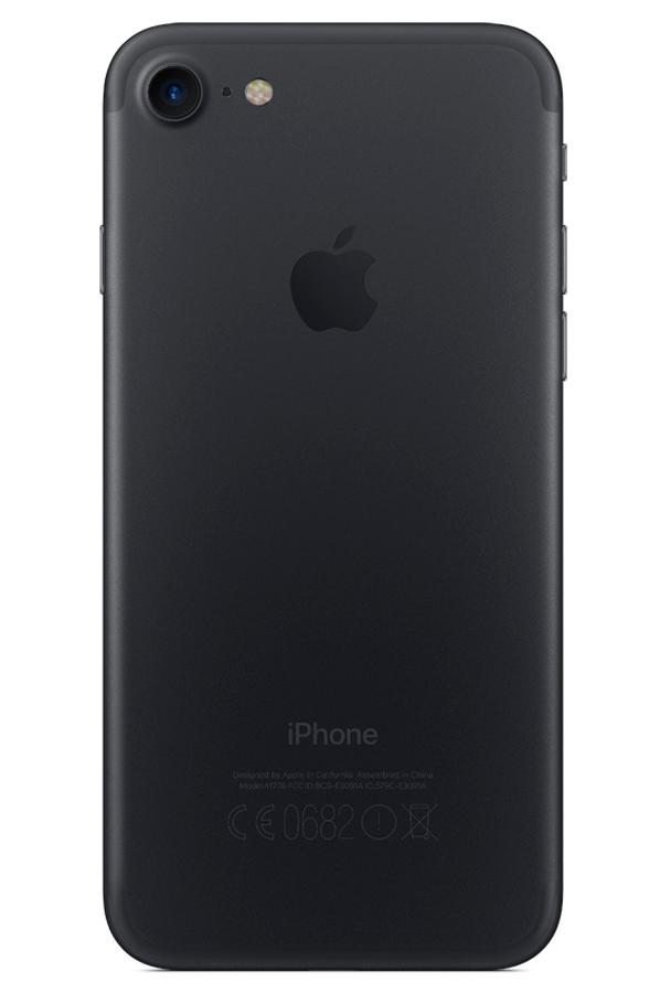 iphone apple iphone 7 256 go noir 4258177 darty. Black Bedroom Furniture Sets. Home Design Ideas