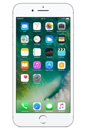 iphone apple iphone 7 plus 32go argent iphone 7 plus darty. Black Bedroom Furniture Sets. Home Design Ideas