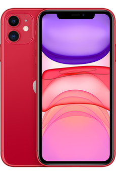 iPhone Apple IPHONE 11 64GO ROUGE V2