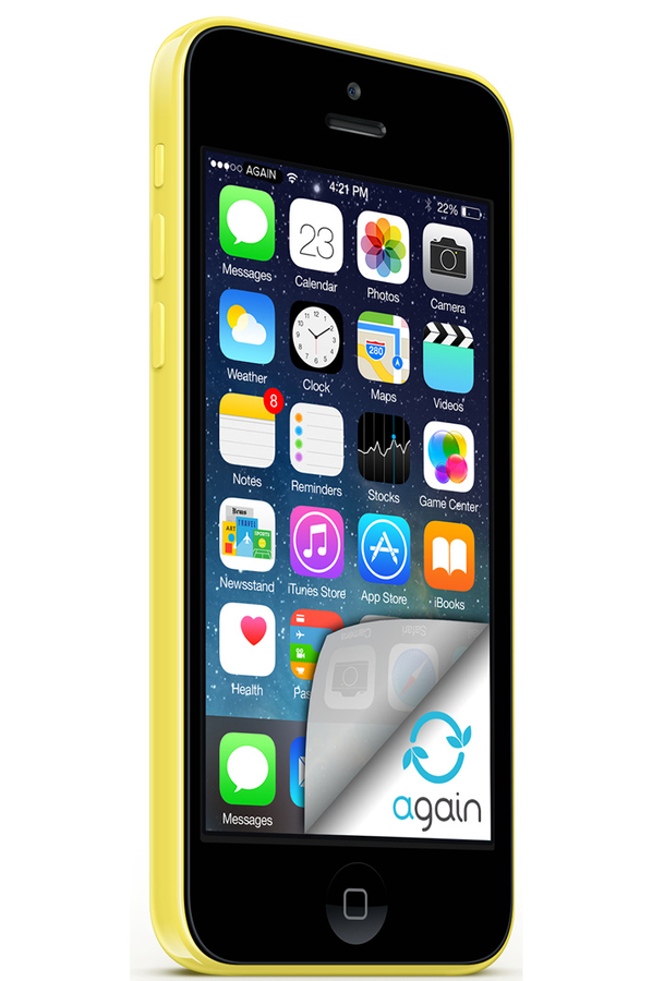 iphone reconditionn apple iphone 5c 16go jaune. Black Bedroom Furniture Sets. Home Design Ideas