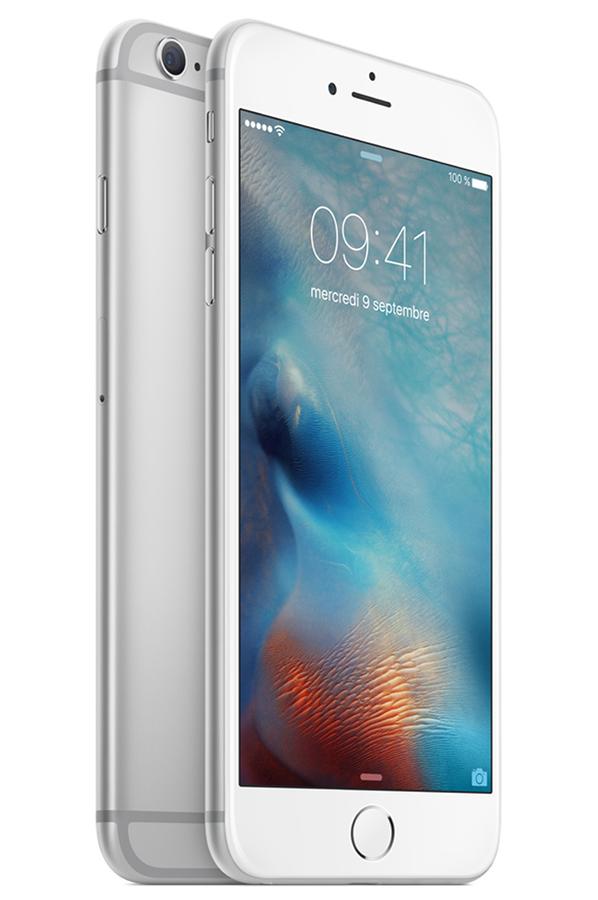 apple iphone 6s plus 32 go argent smartphonespaschers. Black Bedroom Furniture Sets. Home Design Ideas