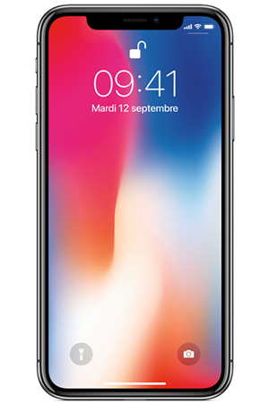 Iphone apple iphone x 256 go gris sid ral mqaf2zd a darty for Prix telephone seul