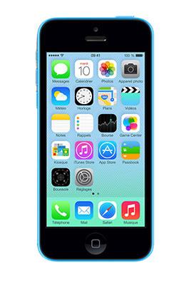 iphone apple iphone 5c 16go bleu 3812057 darty. Black Bedroom Furniture Sets. Home Design Ideas