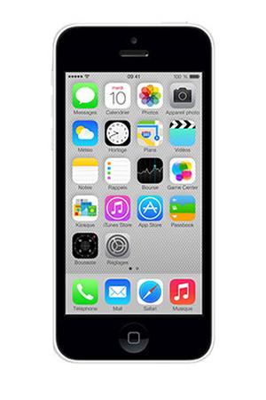 iphone apple iphone 5c 32go blanc darty. Black Bedroom Furniture Sets. Home Design Ideas