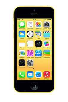 iPhone IPHONE 5C 32GO JAUNE Apple