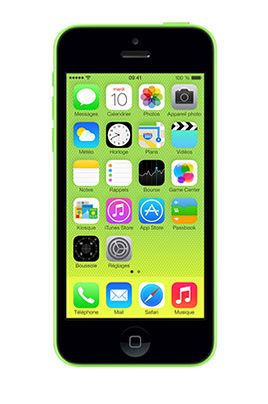 DARTY - iPhone Apple IPHONE 5C 8GO VERT
