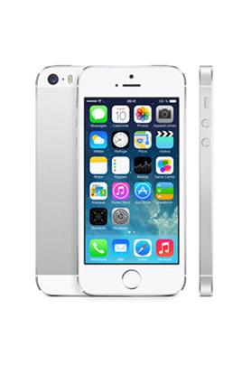 iphone apple iphone 5s 32go argent 3812014. Black Bedroom Furniture Sets. Home Design Ideas