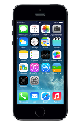 DARTY - iPhone Apple IPHONE 5S 32GO GRIS SIDERAL