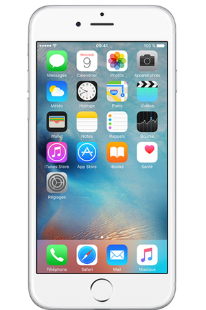 632d1a7dfd10a1 iPhone Apple iPhone 6 16GO ARGENT - iPhone 6   Darty