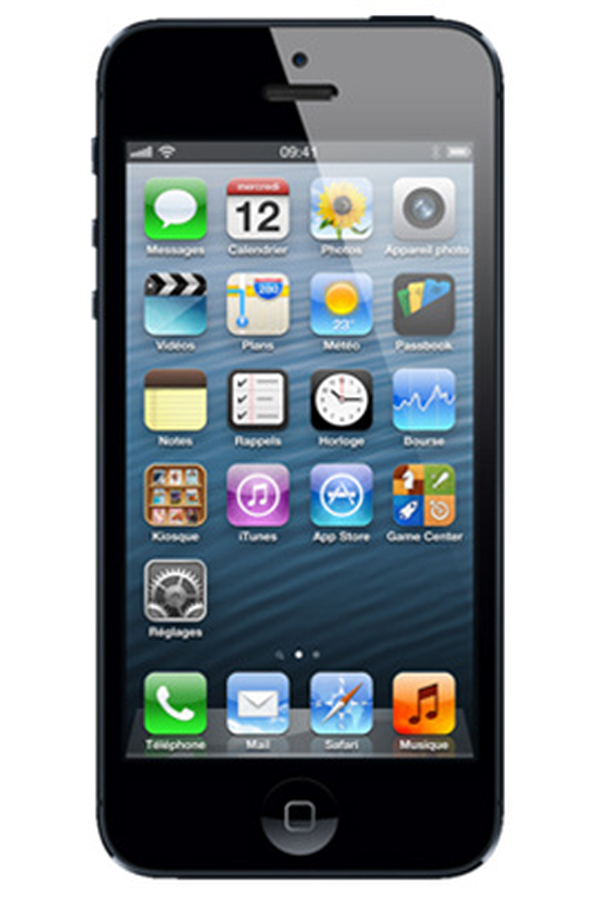 iphone reconditionn apple iphone 5 16 go noir reconditionne iphone 4193318 darty. Black Bedroom Furniture Sets. Home Design Ideas