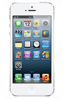iPhone reconditionné IPHONE 5 32GO BLANC RECONDITIONNE Apple