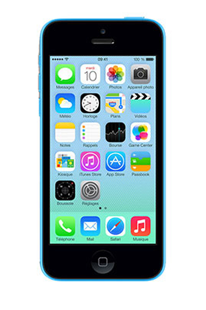 iphone reconditionn apple iphone 5c 32go bleu reconditionne darty. Black Bedroom Furniture Sets. Home Design Ideas