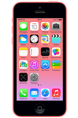 iphone reconditionn apple iphone 5c 32go rose reconditionne 4179048 darty. Black Bedroom Furniture Sets. Home Design Ideas