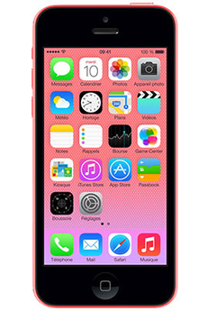 iPhone reconditionné IPHONE 5C 32GO ROSE RECONDITIONNE Apple