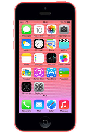 iphone reconditionn apple iphone 5c 32go rose reconditionne darty. Black Bedroom Furniture Sets. Home Design Ideas