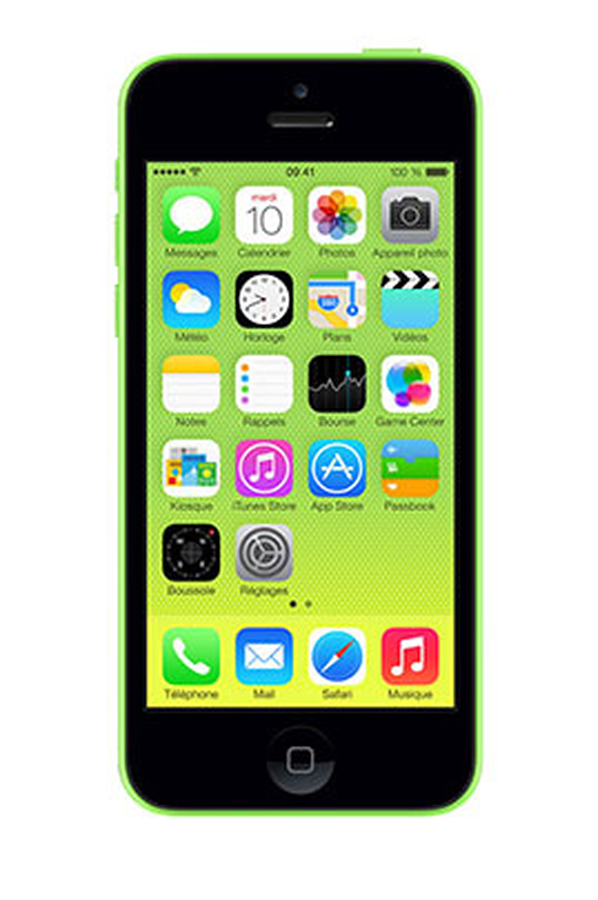 mobile nu reconditionn apple iphone 5c 32go vert. Black Bedroom Furniture Sets. Home Design Ideas