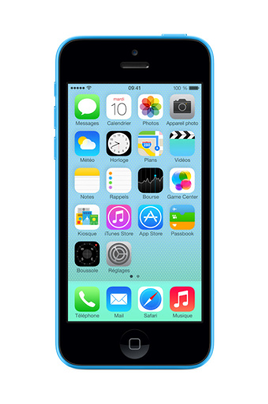 iphone reconditionn apple iphone 5c 16 go bleu reconditionne 4051041 darty. Black Bedroom Furniture Sets. Home Design Ideas