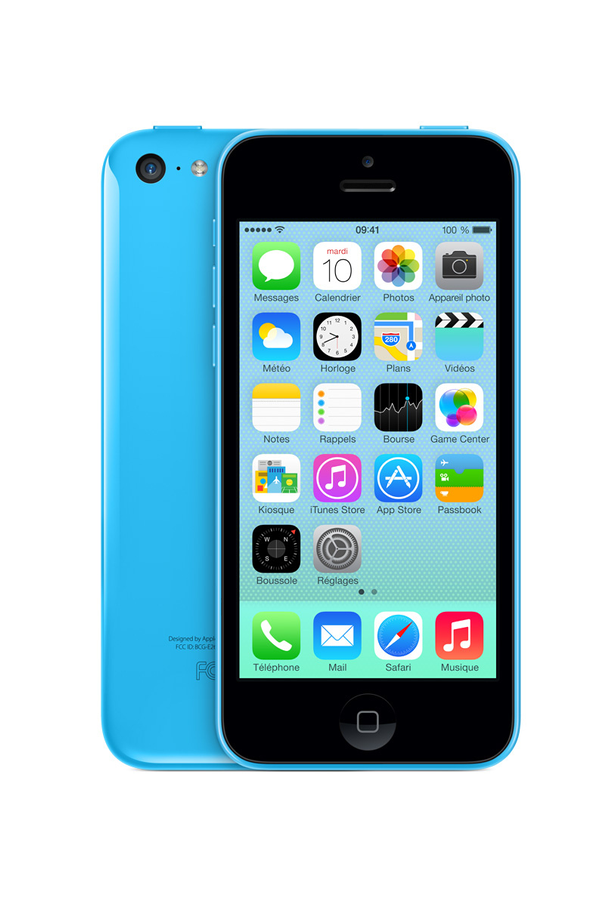 iphone reconditionn apple iphone 5c 16 go bleu. Black Bedroom Furniture Sets. Home Design Ideas