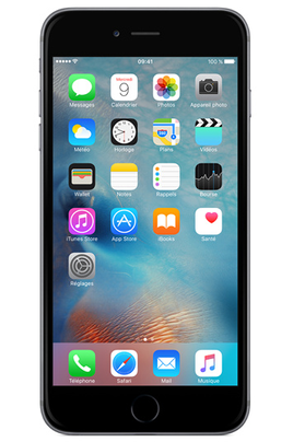 Apple IPHONE 6 64GO  GRADE A+++ couleur argent, recondit