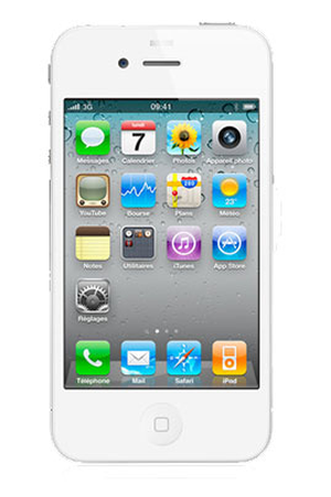 iphone reconditionn apple iphone 4 8go blanc reconditionne fd198nf a darty. Black Bedroom Furniture Sets. Home Design Ideas