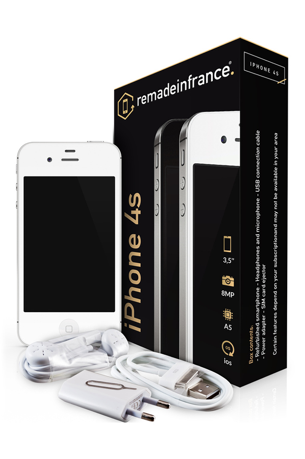 iphone reconditionn apple iphone 4s 8go reconditionne iphone 4s 4140559 darty. Black Bedroom Furniture Sets. Home Design Ideas