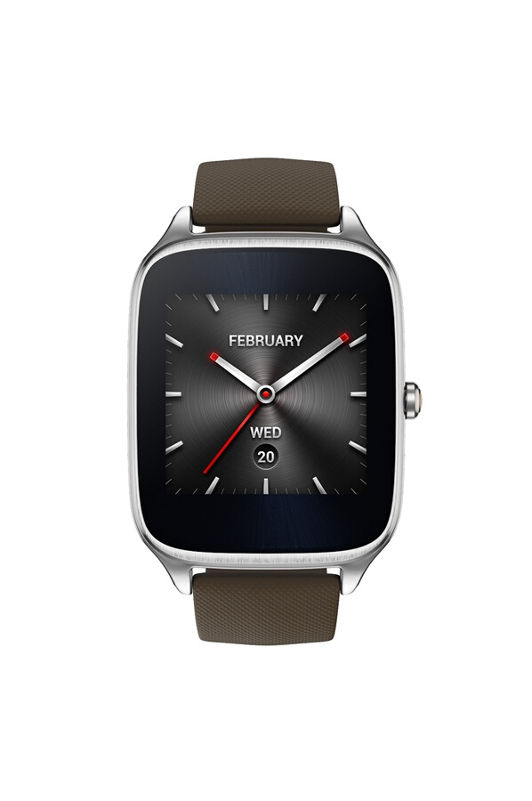 montre connect e asus zenwatch 2 en silicone taupe 4194772 darty. Black Bedroom Furniture Sets. Home Design Ideas