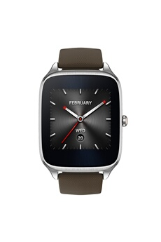 "Montre connectée ZENWATCH 2 1.63"" EN SILICONE TAUPE Asus"