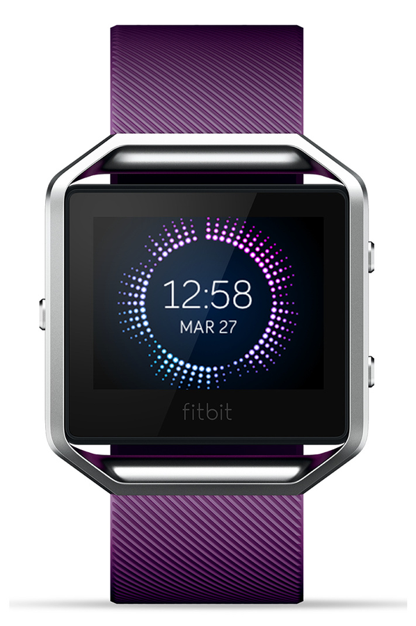 montre connect e fitbit blaze violet large blaze 4208358 darty. Black Bedroom Furniture Sets. Home Design Ideas