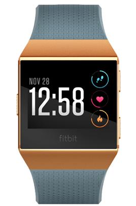 Fitbit IONIC BLEU ORANGE METALLISE