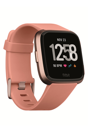 montre connect e fitbit versa p che rose gold darty. Black Bedroom Furniture Sets. Home Design Ideas