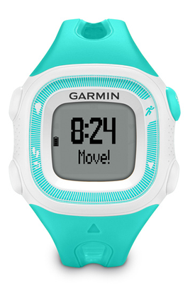 Montre connectée Garmin FORERUNNER 15 HRM TAILLE S TURQUOISE BLANC