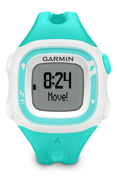 Montre connectée FORERUNNER 15 HRM TAILLE S TURQUOISE BLANC Garmin