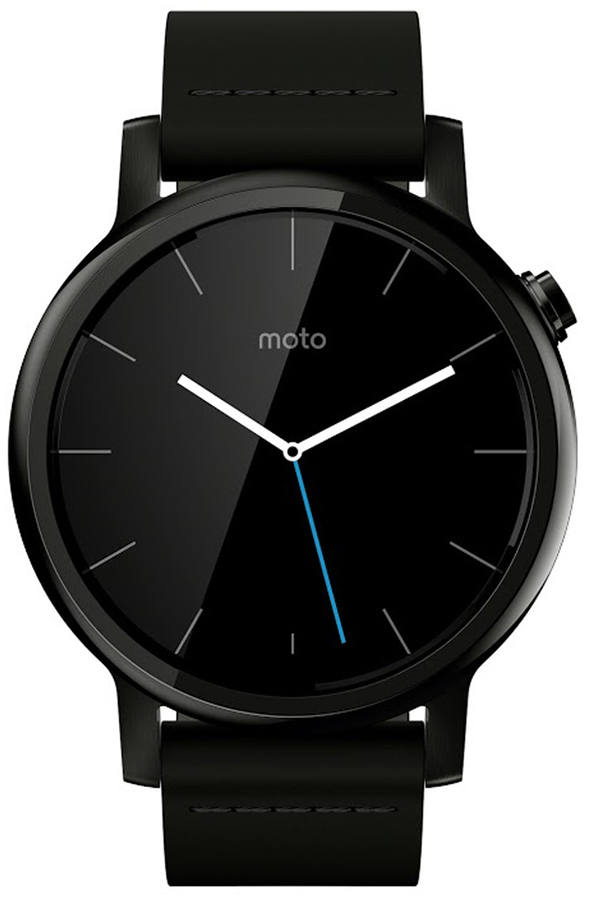 montre connect e motorola moto 360 v2 homme 42mm cuir noir moto 360 4171012 darty. Black Bedroom Furniture Sets. Home Design Ideas